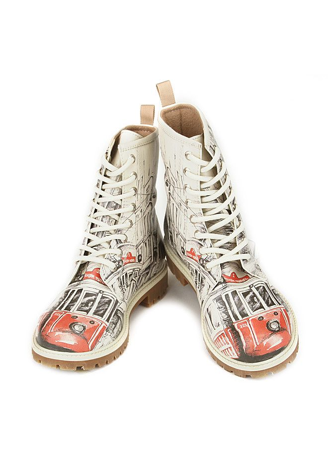 Dogo Store - Shoes > Ms. Dogo > Bootz > Leather > Taksim - Tünel