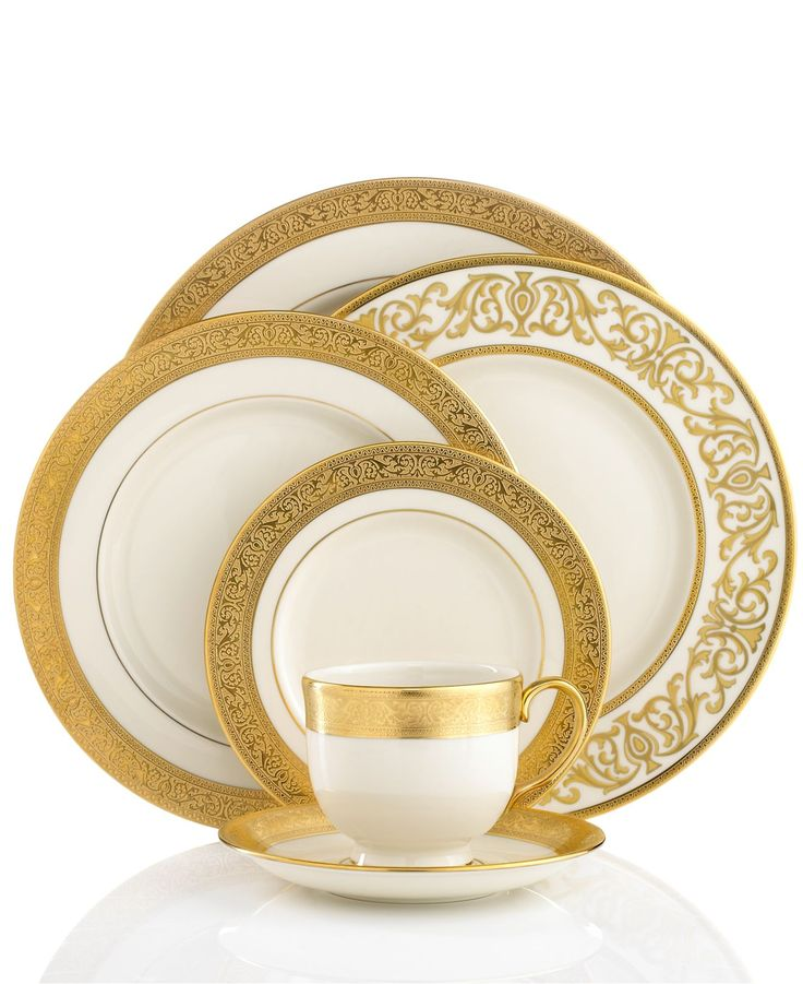 Lenox Dinnerware, Westchester Collection Fine China Retails for $575 per five piece place setting.