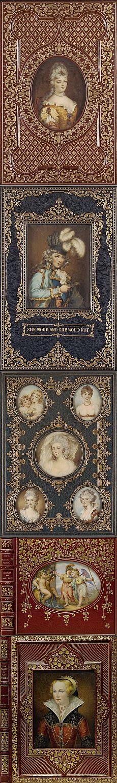 Старинные обложки книг.