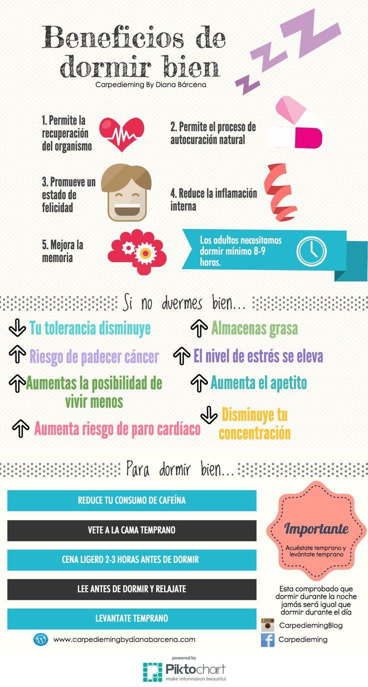 17 best images about infograf as on pinterest llamas - Para dormir bien ...