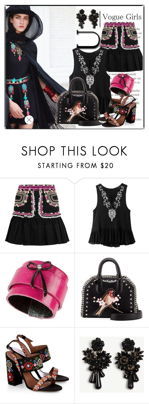 """""""vogue girls"""" by barones-tania ❤ liked on Polyvore featuring Isabel Marant, STELLA McCARTNEY, Tabitha Simmons and Ann Taylor"""