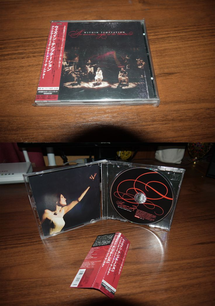 Within Temptation - An Acoustic Night at the Theatre (2009 Roadrunner) Japan
