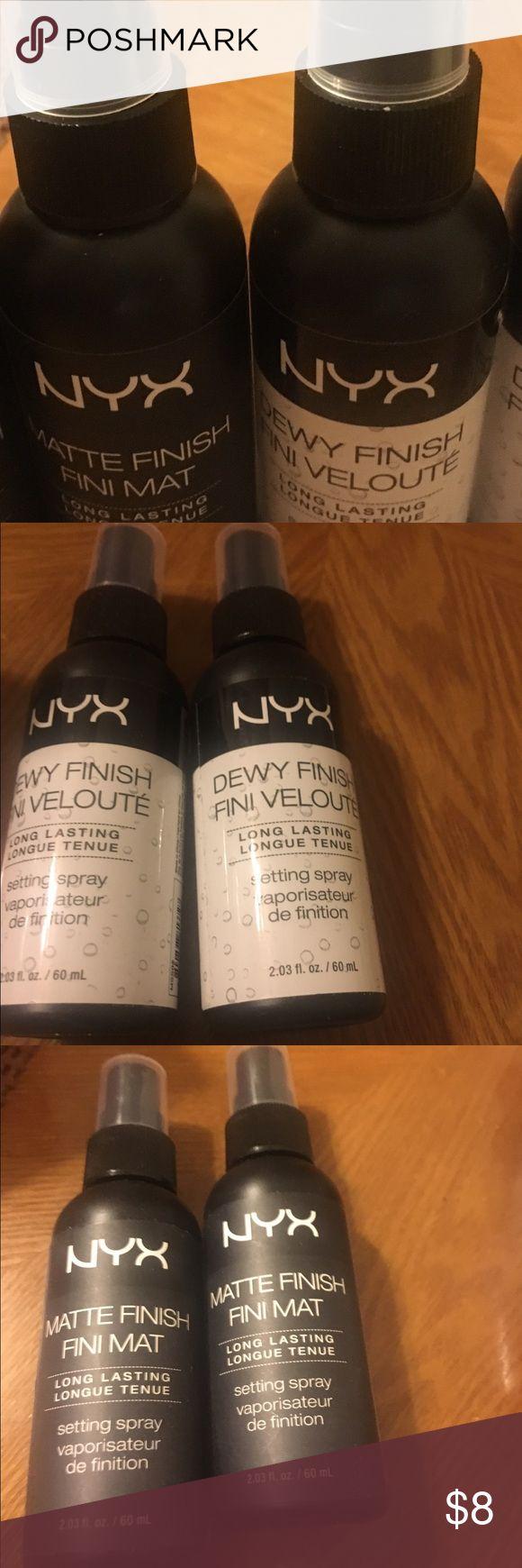 NYX Finish Spray Matte or Dewy Finish Spray 2 FOR 8.00 🛑 NYX Makeup Luminizer