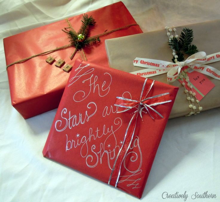 Christmas+Gift+wrap+ideas.jpg 1,600×1,469 pixels