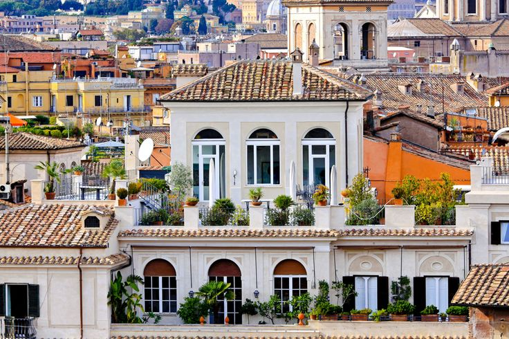 Rome rooftop apartment