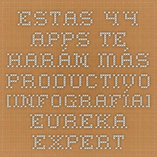 estas 44 apps te harn ms productivo infografa eureka experts asesoramiento