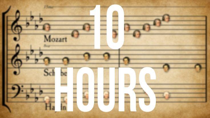 Classical Music Mashup 10 HOURS 10 часов супер Музыки!