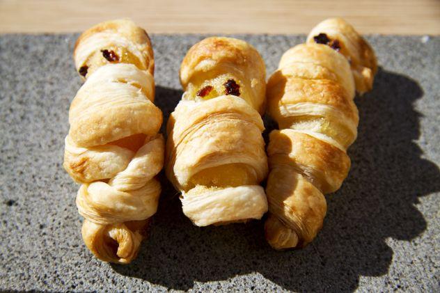 Le mummie, ovvero mele in costume per halloween