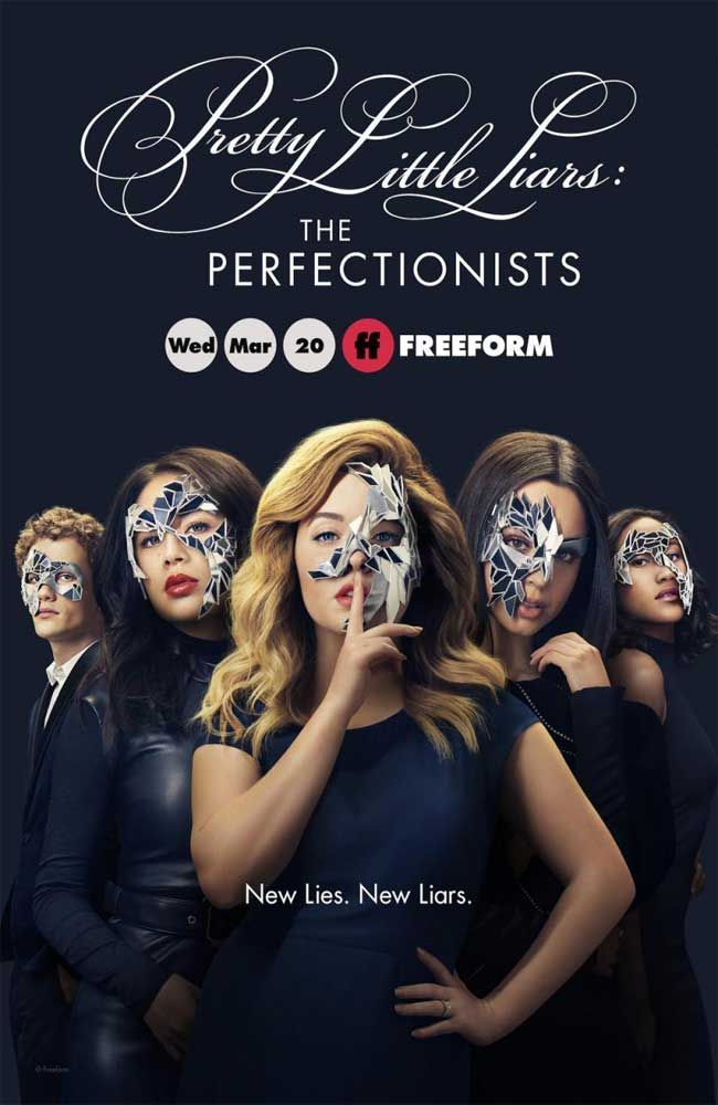 Little Liars The Perfectionists Temporada 1 En Español Castellano Sub E Pretty Little Liars Personajes De Pretty Little Liars Pretty Little Liars Temporadas