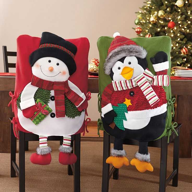 Covers for chairs-2 pieces (Snowman and Penguin) | Costco Mexico