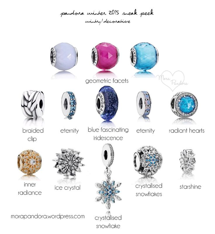 Pandora Winter 2015 Updated Pictures Amp Prices Christmas