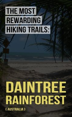 New article ✈ Check out one of the most rewarding hiking trails: Daintree rainforest, Australia. ➡ http://www.victorstravels.com/australia/cape-tribulation/
