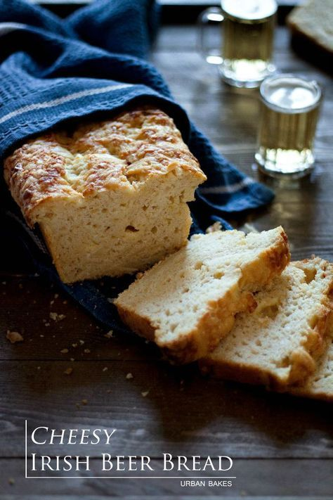 Cheesy Irish Beer Bread   URBAN BAKES