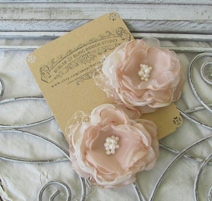 Bridal Hair Flower, Fabric Flower, Bridal Hair Piece, Flower Hair Pin ,Wedding Hair Flower,Hair Accessory