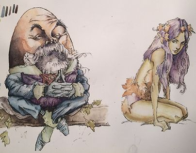 """Check out new work on my @Behance portfolio: """"Work in progress - coloring (Iain McCaig's sketches)"""" http://be.net/gallery/37075341/Work-in-progress-coloring-(Iain-McCaigs-sketches)"""
