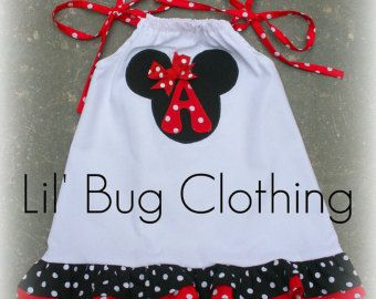 Hot Pink White Polka Dot Minnie Mouse Dress Minnie Mouse Girl