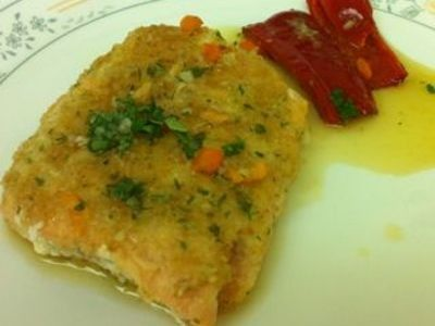 Atlantic Salmon with a Coriander and Lime Dressing
