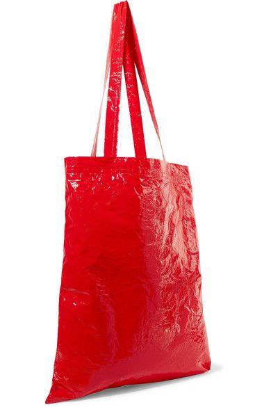 5dc6d18b6 Sies Marjan - Farah crinkled-vinyl tote | Tote Bags | Tote Bag, Bags ...