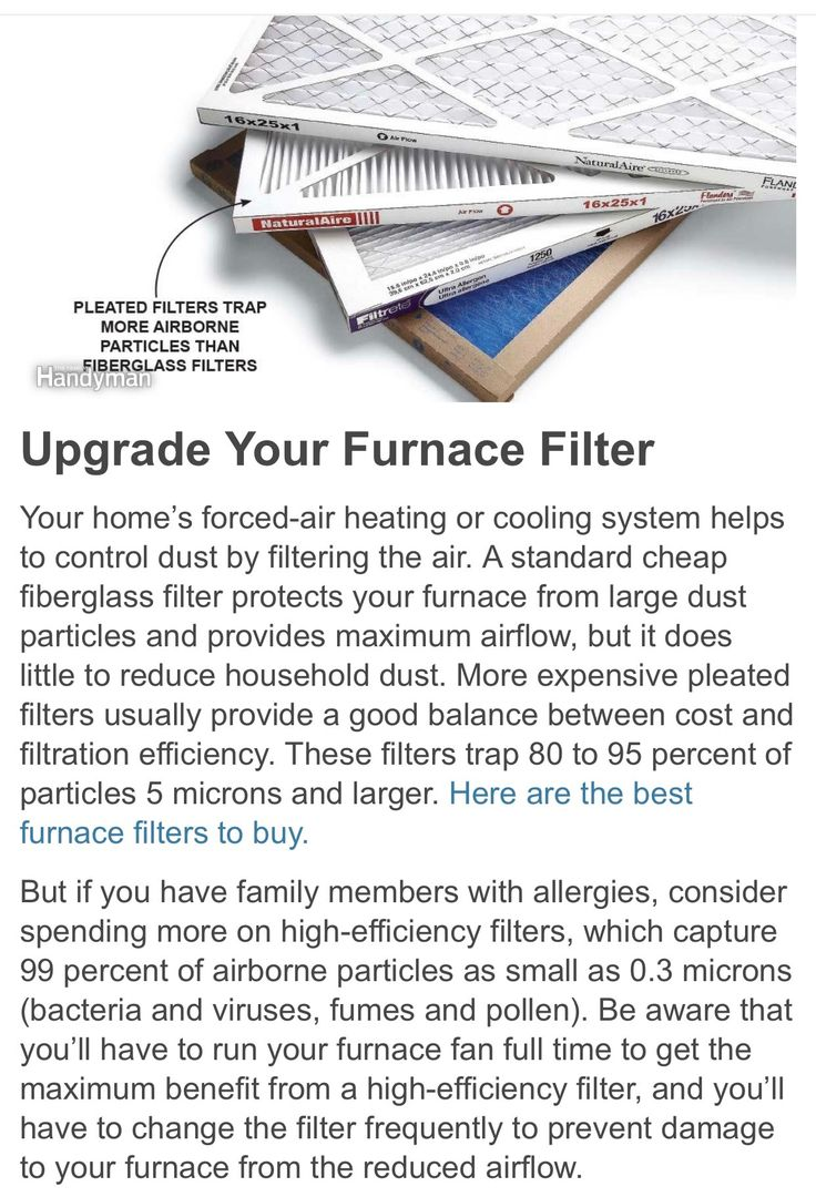 Best furnace air filters for allergies - Best Type Of Air Filter Furnace Filter