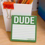 Knock Knock Dude Sticky Note