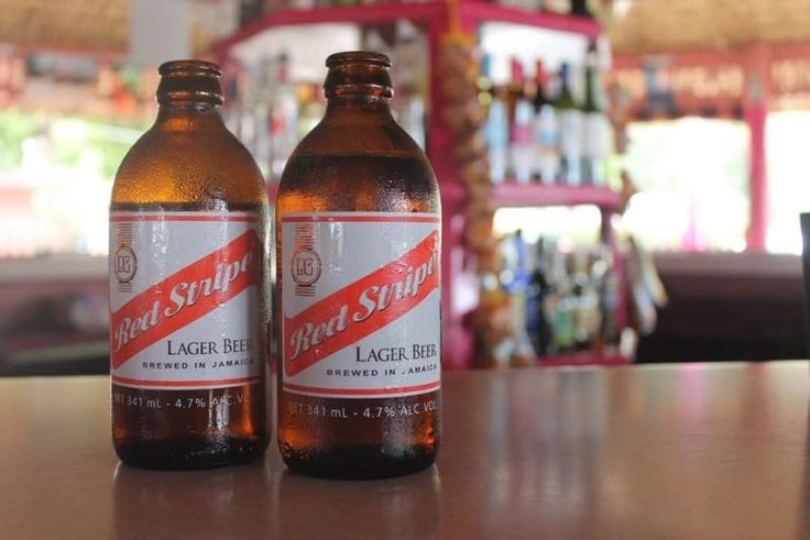 In Jamaica, you will very quickly lose track of time. You won't know what time of day it is, or what day of the week it is. But no matter what, you will know that it's always time for a Red Stripe.