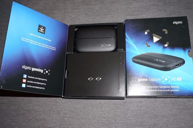 Elgato Game Capture HD60 Full HD 1080p 60FPS Xbox One PS4