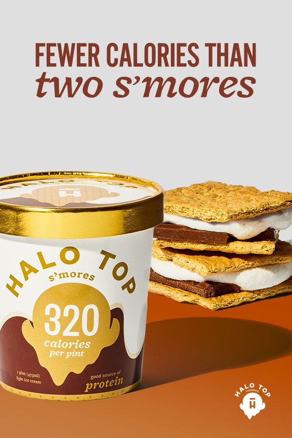 Fewer calories than two S�mores