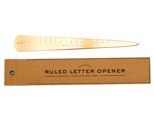 Ruled Letter Opener by Izola