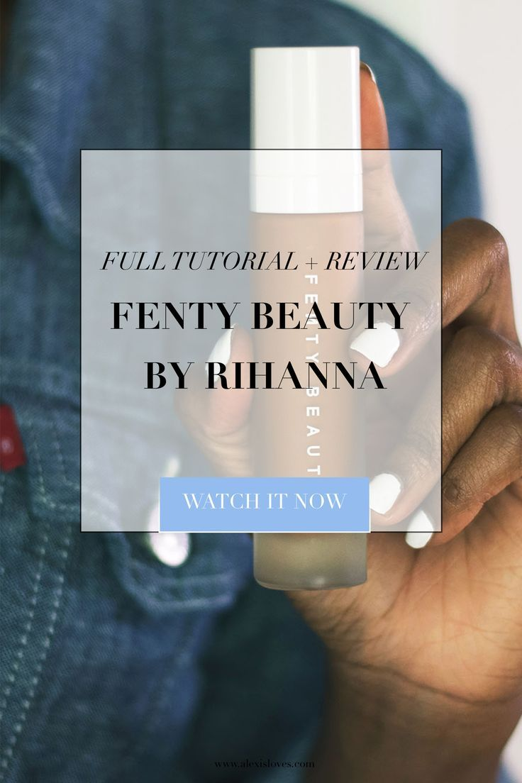 See my brand new #makeuptutorial  featuring the Fenty Beauty line by Rihanna, what I loved, and how I'm using it!  Did you get anything from the launch? Meet me in the comments, let's discuss!