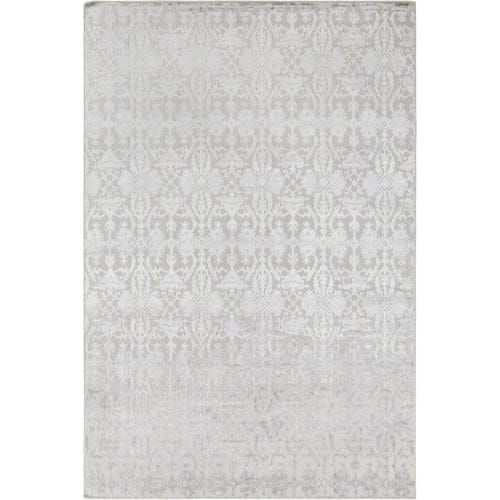 Surya TDL1045-913 Tidal 9' x 13' Rectangle Synthetic Hand Knotted Transitional A - gray