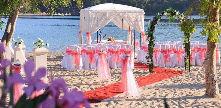 Эксклюзивная свадьба в Турции