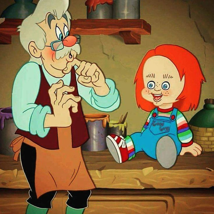 CHUCKY!!! Childs play was one of my fav movies as a kid.. i didnt know it was supposed to scare me