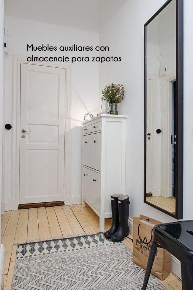 Inspiraci n para recibidores estilo escandinavo - Recibidor estilo nordico ...