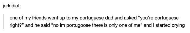 This Portuguese dad: