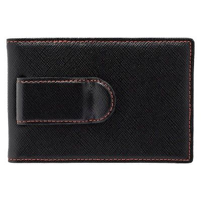 würkin stiffs - Men's Money Clip Wallet Rfid Blocker Red, Original Red