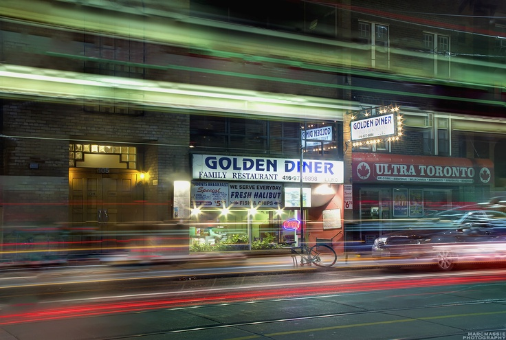Golden Diner, Carlton and Jarvis, Toronto