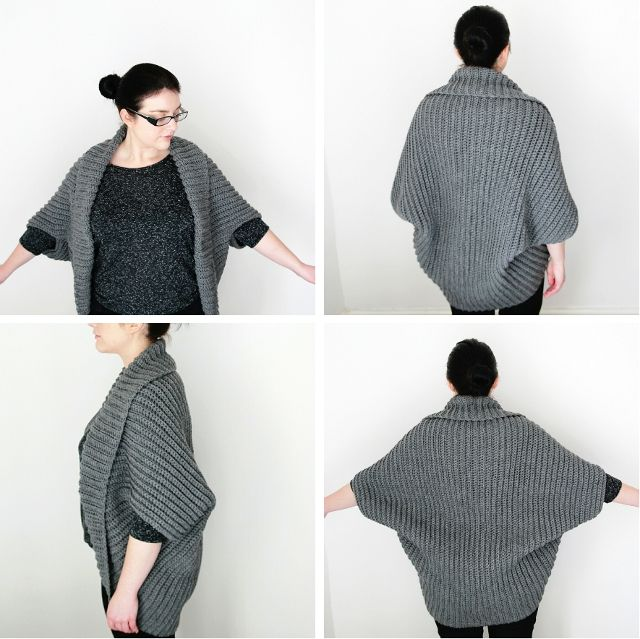 Shrug Knitting Patterns For Beginners : 25+ best ideas about Easy crochet shrug on Pinterest Easy crochet shawl, Cr...