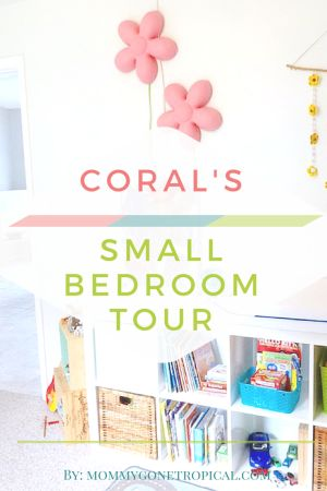 Coral's Small Bedroom Tour - Mommy Gone Tropical #small #bedroom #tour #diy #minimalist