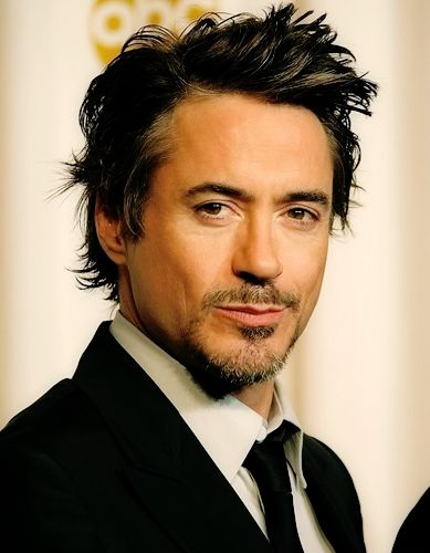 Robert Downey Jr...only one of the hottest men alive