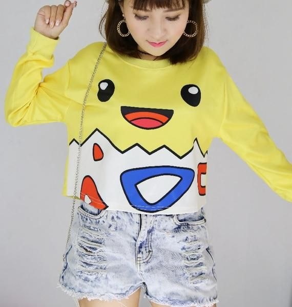 Cute Pokémon Sweatshirts for Women Autumn 2016 - PokemonsGoo