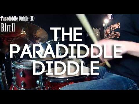Paradiddle Diddle Play Along | Drum Rudiments