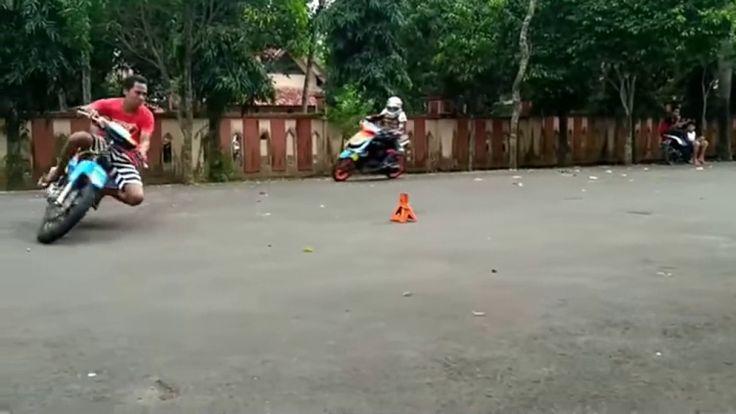 !!,Road Race Pembalap Nekat Tanpa alat Pelindung Tubuh Berani Balapan,!!