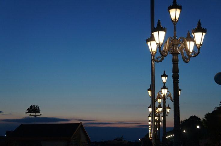 Электроточприбор: Новые фонари и светильники изменили облик Владивос...