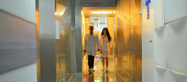 Cryobank in IVF clinic Altra Vita.