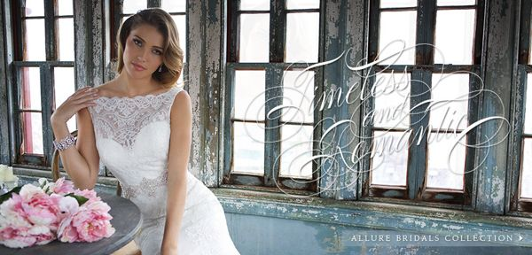 Madame Bridal - Pin it to Win it!! Allure Bridals come in many styles and fabrics to make your day the sensational memory you want. Visit us here:  www.madamebridal.com