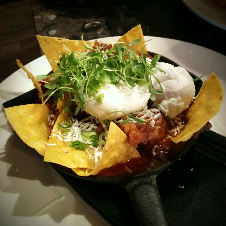 The Huevos Rancheros on the new #brunch menu is a big hit with Dad today!