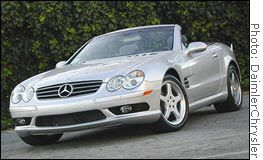 MERCEDES SL500.. My car I have now.. I love it.