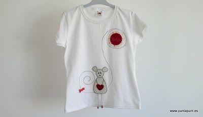 · punt a punt: camiseta