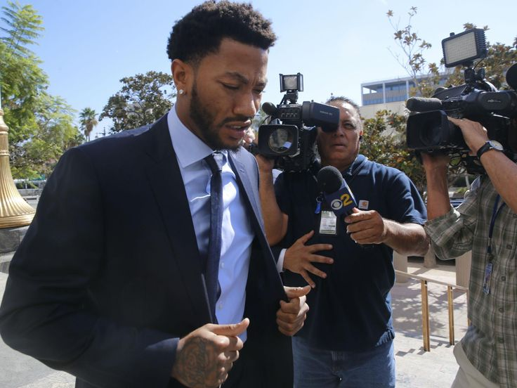 NBA player Derrick Rose and two friends found not guilty over gang rape