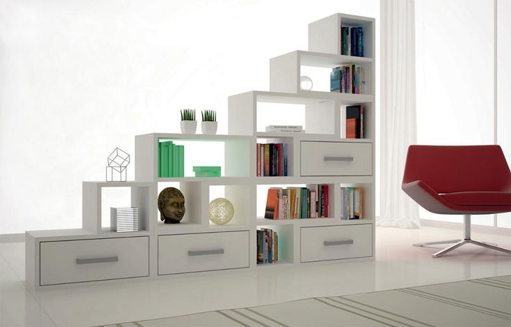 Nichos formam estante.Bookshelves, Bookcases, Formam Estantes, Estantes Para, 12 Estantes, Ambient, Estantes Criativas